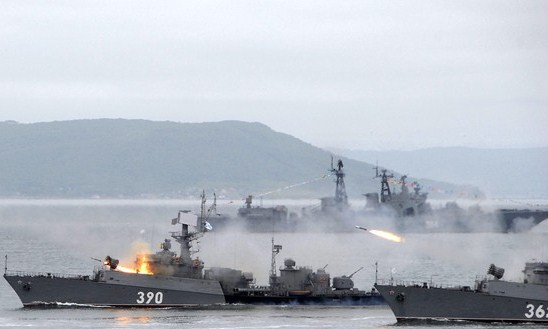 The Russian Warships