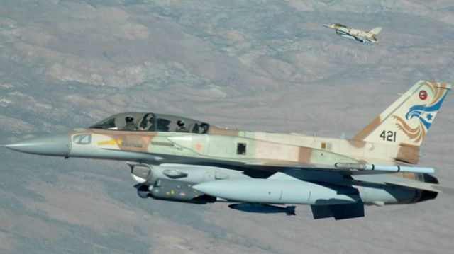 Israeli F-16 fighter jets (File photo)