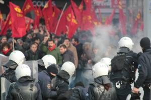 Jan. 13 protest against missile deployment clashed with police in Ankara