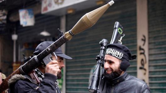 Al Qaeda Terrorists in Syria