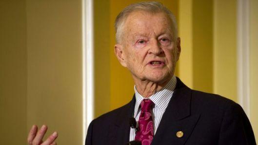 Zbigniew Brzezinski, the former US national security adviser