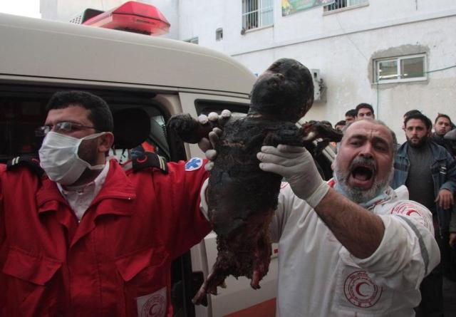 Photo Fady Awan Gaza City January 8 2009