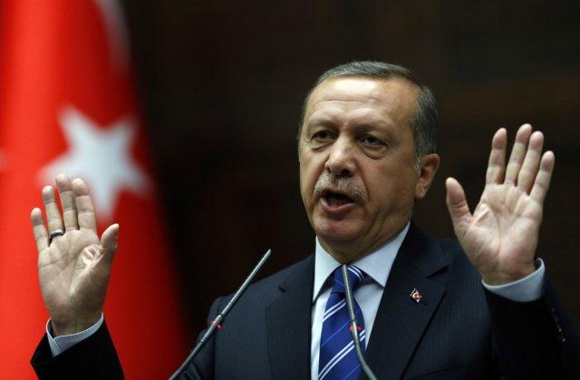 Umit Bektas/Reuters Turkish Prime Minister Tayyip Erdogan