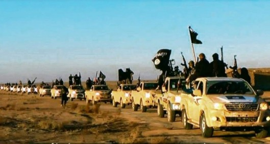 ISIL in New Toyotas