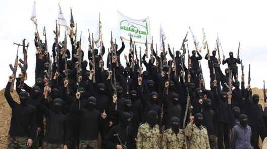 Fighters group Ahrar ash-Sham
