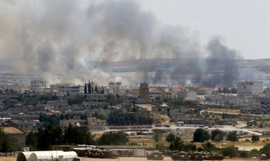 The border town of Kobane came close to capture by ISIS jihadists last year
