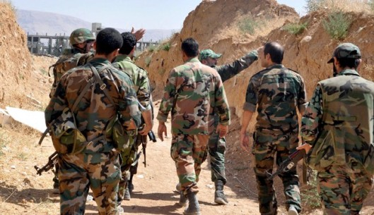 Syrian army is improving against al-Nusra Front militants in Qalamoun region.