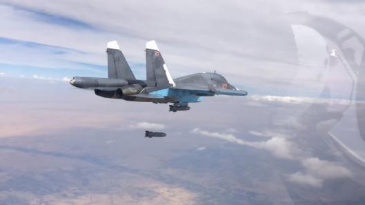 Russian-SU-34-airstrike